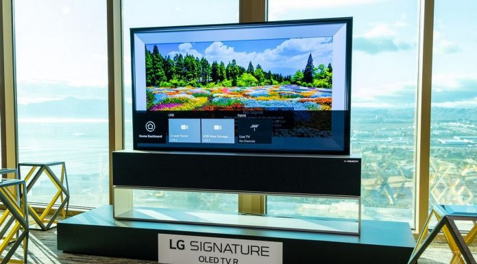 TV enroulable LG